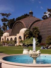 balboa, parc, arboreum, San Diego