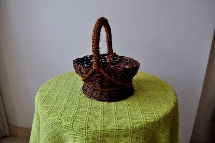 brown, decorative, wicker, baskets