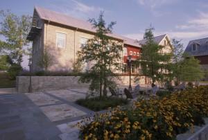bygningen, patio, national, bevaring, opplæring, sentrum