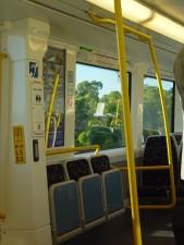bus, interior