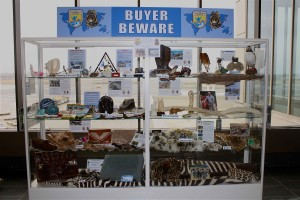 buyer, beware, exhibit, logan, airport