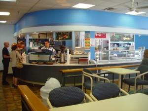 cafétéria, australienne, national, université, Canberra