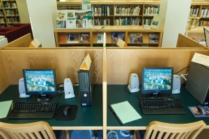 computer, stations, conservation, library