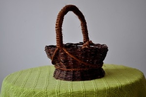 decorative, baskets, woven, wicker, handicrafts