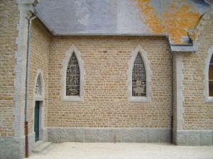 exterior, courtyard