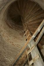 historique, phare, escalier