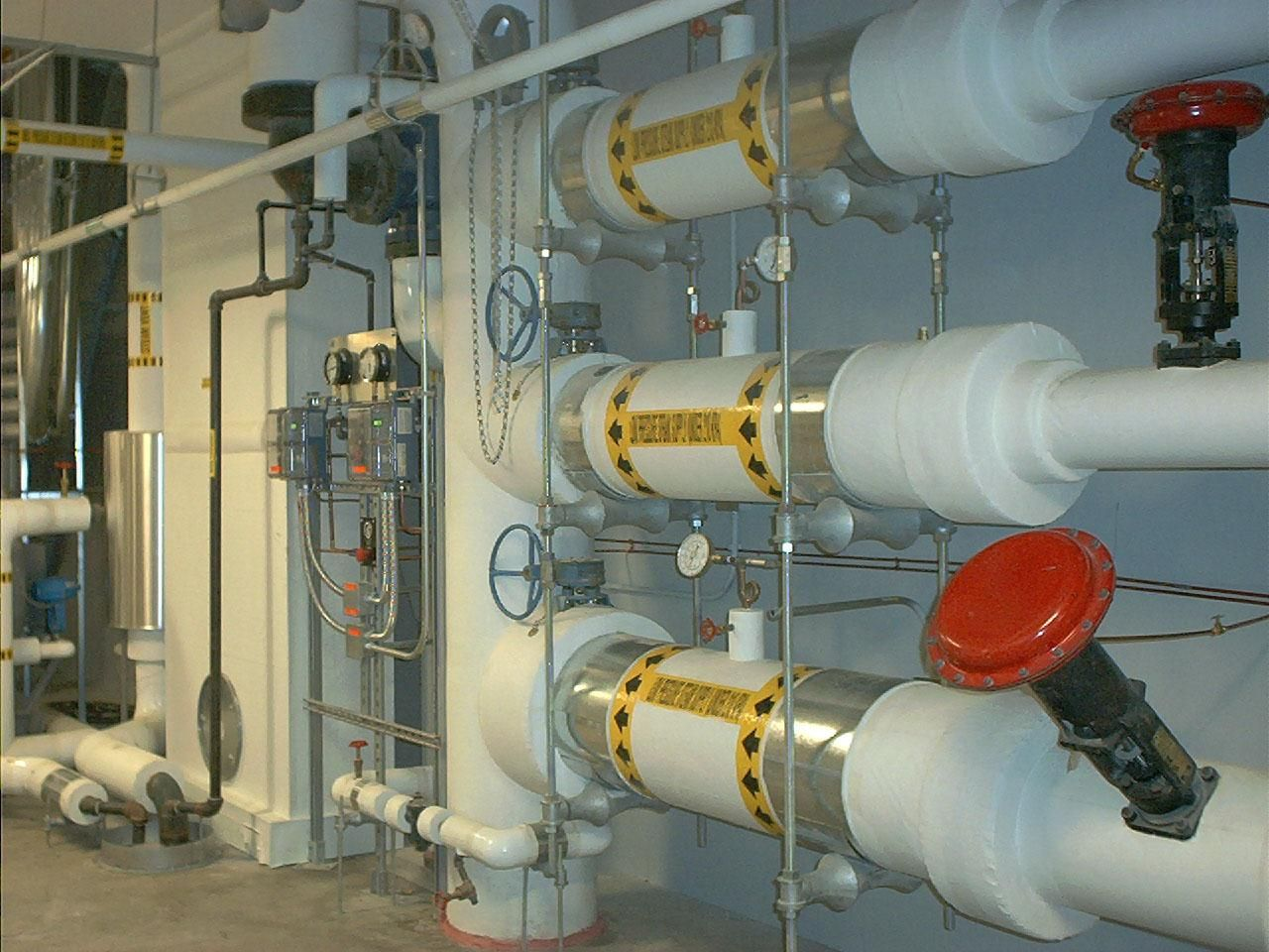Free Picture Hvac Piping Building