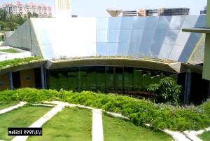 Indias, grønn, business, center, energi, forbedring