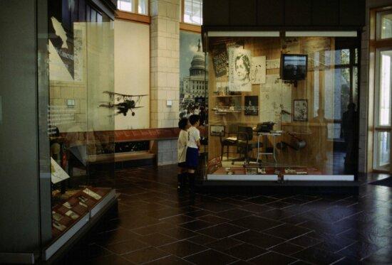 interior, museum