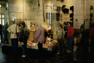 interior, one, displays, museum