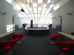 library, interior