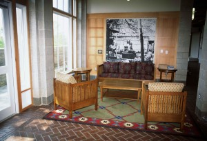 Lounge, areal, interiør