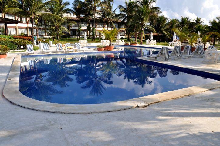 luxury, pool, tropical, style