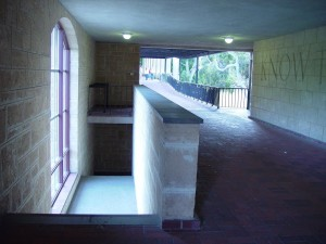 moderne, bâtiment, intérieur