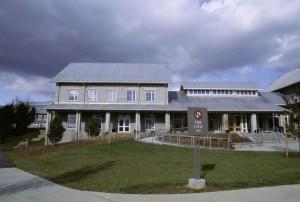 national, la conservation, la formation, centre, bâtiment