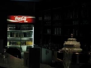nuit, club, intérieur