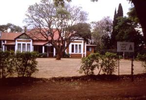 venku, student hostel, Salisbury, Rhodesii, Harare, Zimbabwe