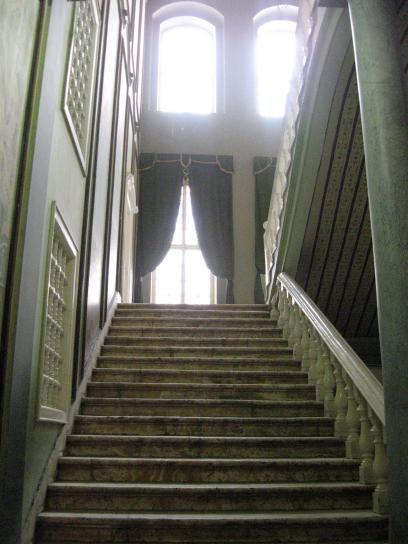 Pałac, schody, Cytadela, Kair, Egipt