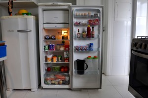 refrigerator, kitchen, food