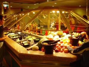 restaurant, intérieur