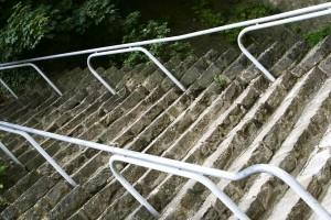 urbaines, les escaliers