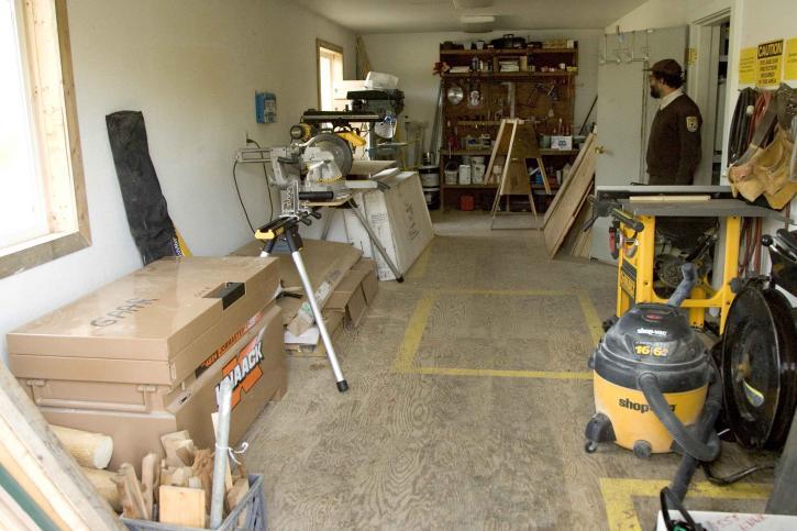 arbeid, butikk, interiør