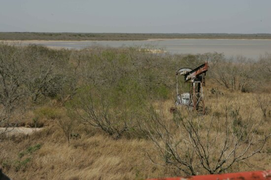 abandoned, gas, well, pump