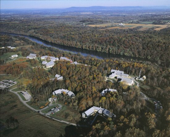 aerial, national, conservation, training, center, nctc, campus, landscape