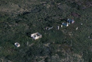 aerial, graves, fencing, surrounds