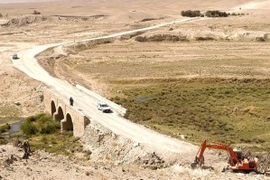 afghanistan, funded, construction, road, connecting, two, provinces, Ghazni