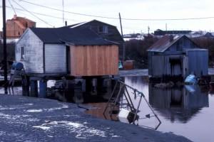 Bethel, landsby, oversvømmelser
