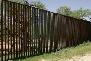 grand, haut, frontière, barrière