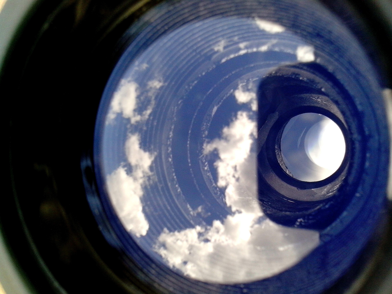 Free photograph; binoculars, inside, glass, magnifying, close