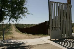 frontière, barrière, métal