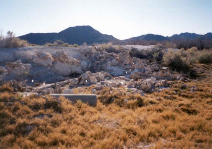 cabina, il restauro, rovine, deserto