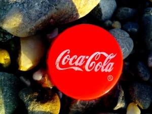 cap, Coca Cola, juice, water