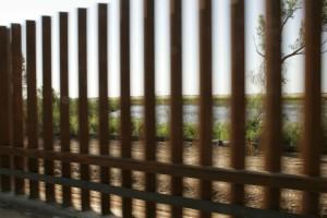 up-close, snapshot, metal, fence, moving, vehicle