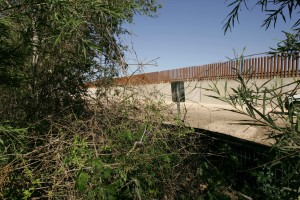 concrete, border, wall