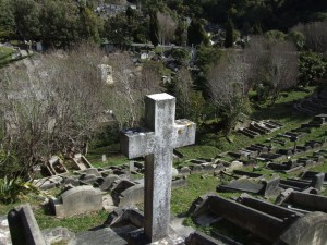 cross, graves, karori, cemetery