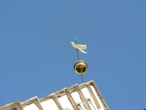 dove, weathervane