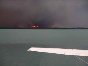 oheň, hranice, Kenai, národný park