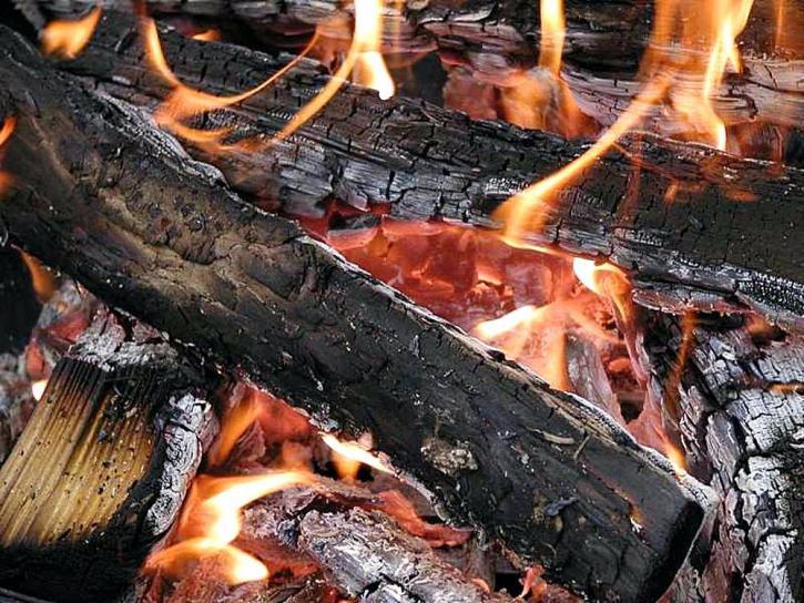 fires, wood, flames, burning, embers, coals