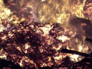 plápolavý, oheň