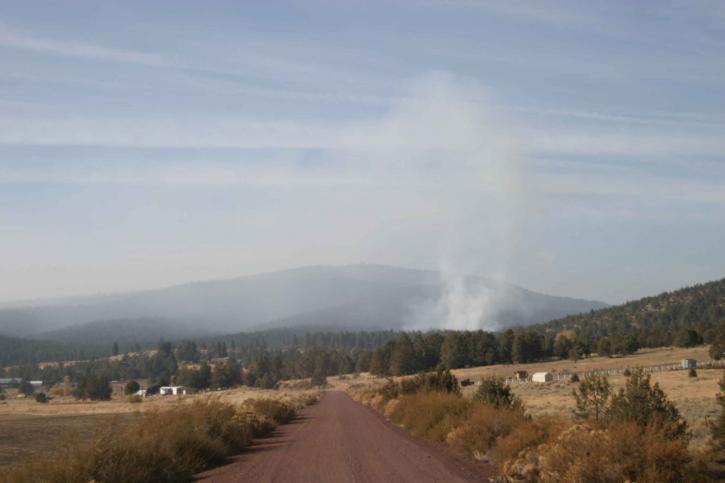 smoke, dispersion