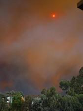 smokey, Sun, fires