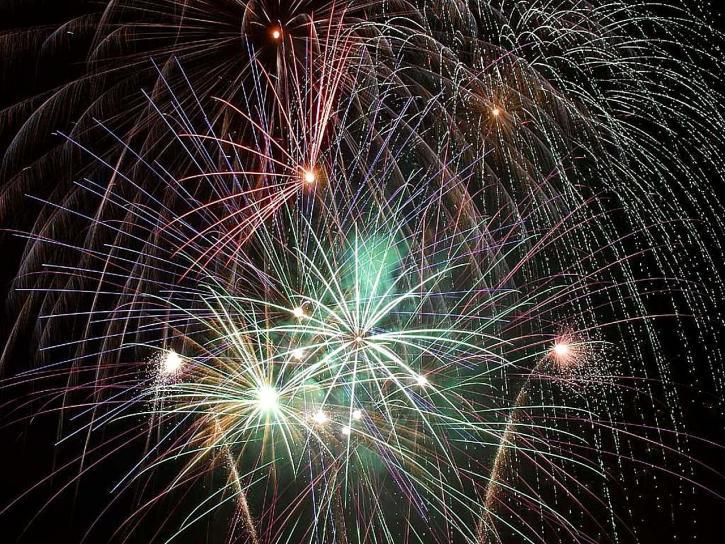 celebration, fireworks