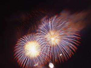 Feuerwerk, perth, Himmel, zeigen