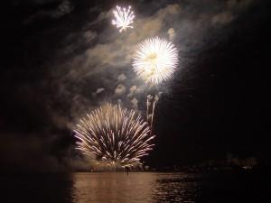 fogos de artifício, skyshow