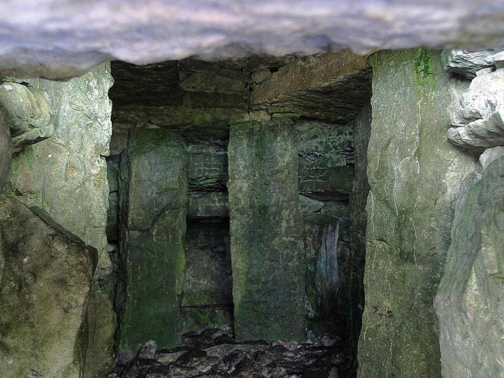 gros rochers, Carrowkeel, tombes, pierres, rochers