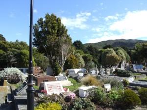 graves, Karori, cemetery